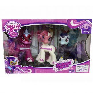 Игровой набор Супер Пони (аналог My Little Pony) со звуковыми и световыми эффектами