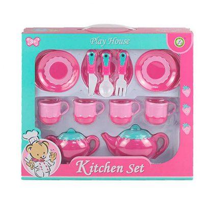 Детская посудка Чайный набор Kitchen Set 14 предметов