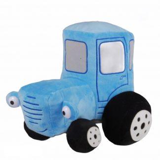 Мягкая игрушка Синий трактор (аналог) 25 см