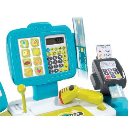 Электронный кассовый аппарат Smoby с терминалом, весами и аксессуарами 27 предметов