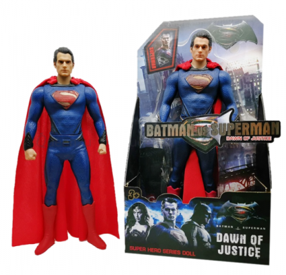 Витрина магазина: Фигурка Супергероя Супермен Superman Лига Справедливости 30 см