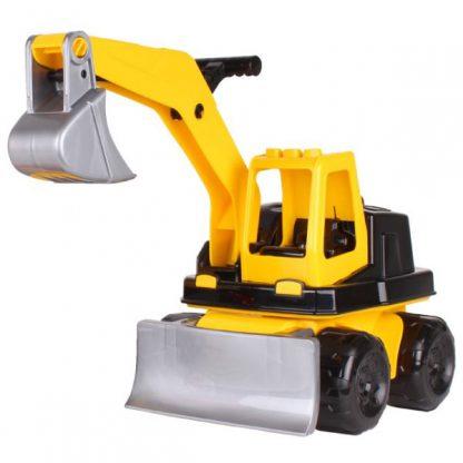 Трактор ТехноК Оранжевый 40 см