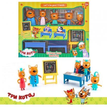 Игровой набор Три кота - Школа