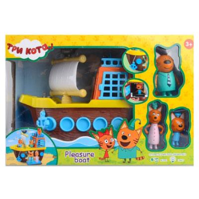 Игровой набор Три кота — Корабль со звуковыми и световыми эффектами