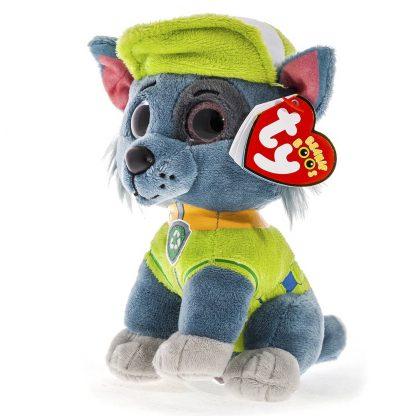 Мягкая игрушка TY Paw Patrol Щенячий патруль Рокки 15 см