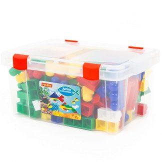 Конструктор для малышей Юниор в контейнере 159 элементов
