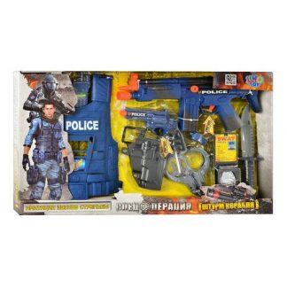 Игровой набор полицейского с бронежилетом Limo Toys
