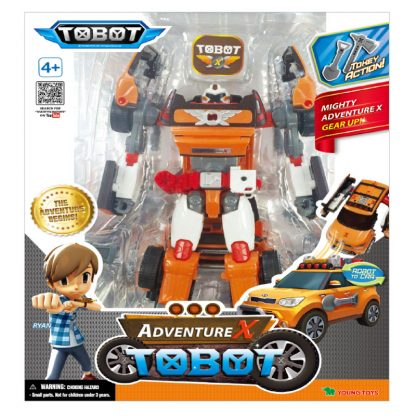 Игрушка-трансформер TOBOT S3 Тобот Adventure X