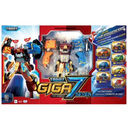 Игрушка-трансформер TOBOT S4 Тобот Giga 7 Гига 7