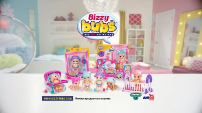 Интерактивная кукла Полли Петалс Bizzy Bubs LittleLive Polly Petals, может ходить