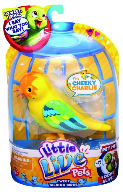 Интерактивная игрушка Little Live Pets Bird Птичка Чарли