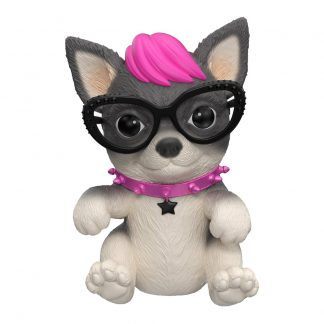 Интерактивная игрушка OMG Pets Little live pets Soft hearts Шоу талантов Щенок Панк Рок