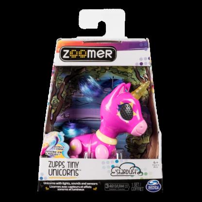 Интерактивная игрушка Zoomer Фэшн-единорог Звездная пыль 10 см