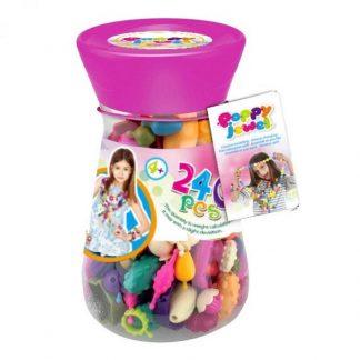 Игрушечный набор для изготовления украшений Dave Toy Poppy Jewel 240 деталей