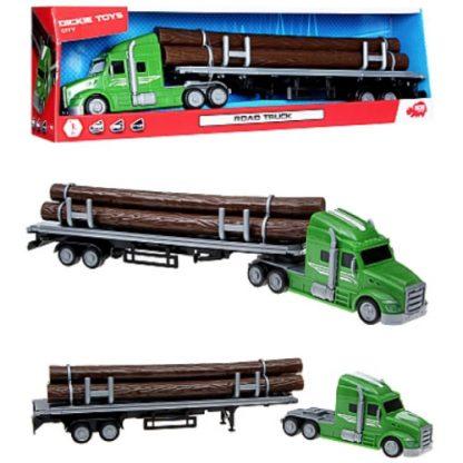 Грузовик Dickie Toys серии Перевозки (перевозка дерева) 42 см