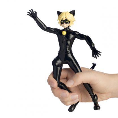 Кукла Miraculous Леди Баг и Супер-Кот — Котоклизм 19 см