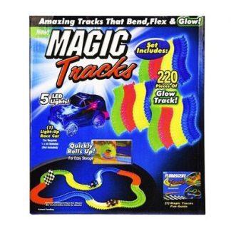 Гоночная трасса Magic Tracks Магический трек 220 деталей (аналог)