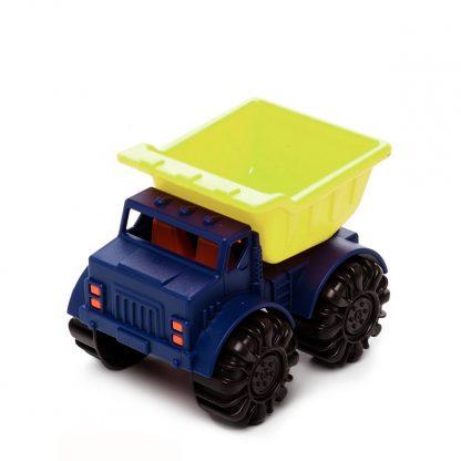 Игрушка для игры с песком Battat Мини-Самосвал (цвет лаймовый-океан)