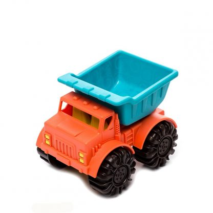 Игрушка для игры с песком Battat Мини-Самосвал (цвет папайя-морской)