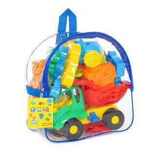 Набор для игры с песком №352 (в рюкзаке) Полесье