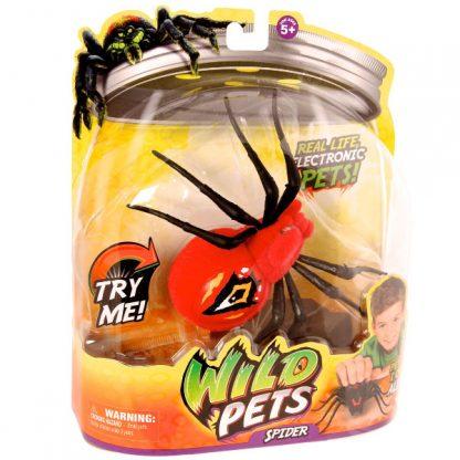 Интерактивный паук Moose Wild Pets Eyegore красный