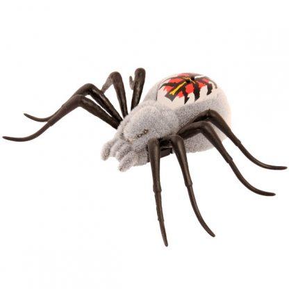 Интерактивный паук Вольфганг Moose Wild Pets Wolfgang серый