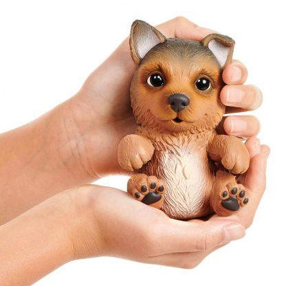 Интерактивная игрушка OMG Pets Little live pets Soft hearts Щенок немецкой овчарки