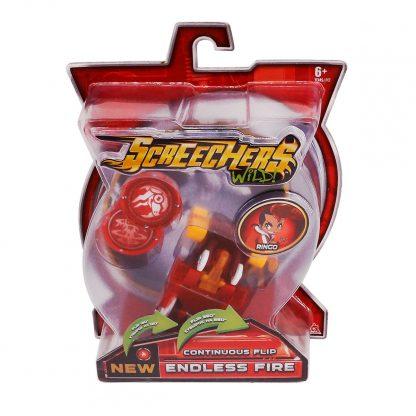 Машинка-трансформер Screechers Wild! S2 L1 Endless Fire- Эндлес Файэр