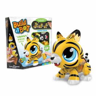 Интерактивная игрушка-конструктор Build a Bot Tiger Тигр
