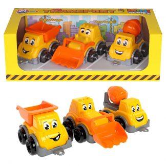 Игровой набор Транспорт Мини ТехноК оранжевый