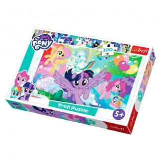 Пазлы Trefl Трефл My Little Pony Радуга 100 деталей (16343)