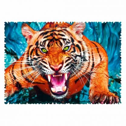 Пазлы Trefl Трефл Crazy Shapes Тигр 600 элементов (11110)