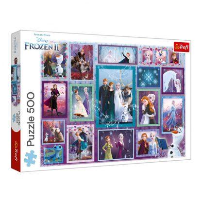 Пазлы Trefl Трефл Frozen 2 Волшебная галерея 500 элементов (37392)