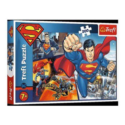 Пазлы Trefl Трефл Superman Супермен 200 элементов (13266)