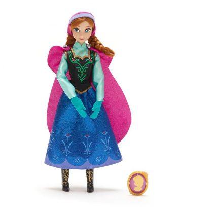 Классическая кукла Принцессы Дисней Холодное сердце Анна Frozen Anna Classic Doll с клипсой