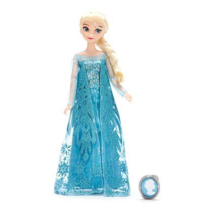 Классическая кукла Принцессы Дисней Холодное сердце Эльза Frozen Elsa Classic Doll с клипсой