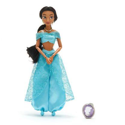 Классическая кукла Принцессы Дисней Жасмин Jasmine Classic Doll с клипсой