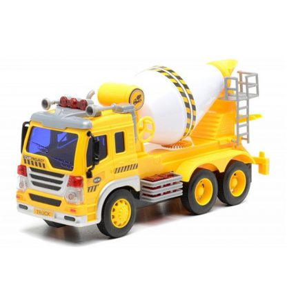 Инерционная Бетономешалка Dave Toy Junior Trucker 28 см со светом и звуком