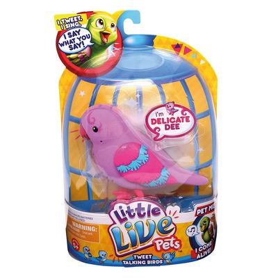 Интерактивная игрушка Little Live Pets Bird Птичка Ди