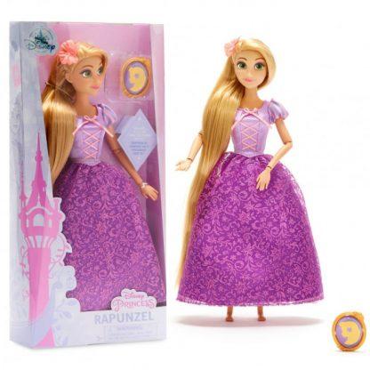 Классическая кукла Принцессы Дисней Рапунцель Rapunzel Classic Doll с клипсой