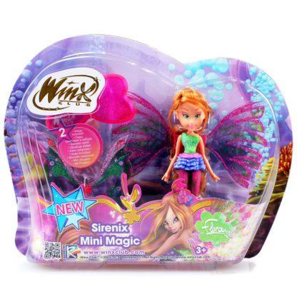 Кукла Winx Флора Сиреникс Мини 12 см