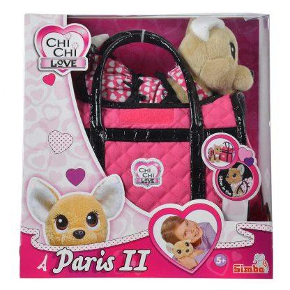 Мягкая игрушка Chi Chi Love Чихуахуа Фешн Париж светится в темноте