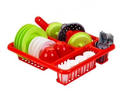 Игровой набор Ecoiffier Посуда с сушкой