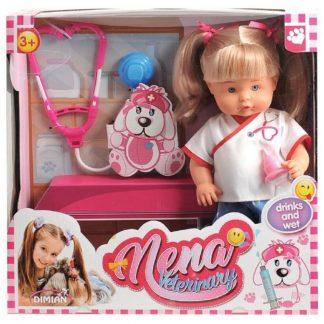 Кукла говорящая Bambolina Нена Врач 36 см
