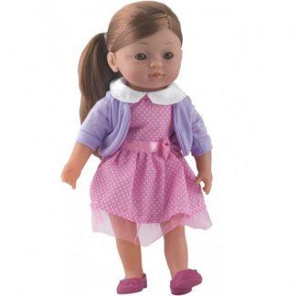 Кукла Dolls World Шарлотта шатенка 36 см