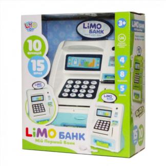 Сейф-копилка для детей Банкомат Limo Toy Банк (на украинском языке)