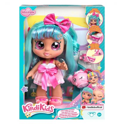 Кукла Kindi Kids Белла Боу Кинди Кидс Bella Bow Fun time с аксессуарами