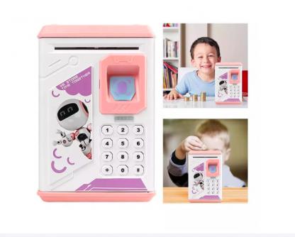 Сейф-копилка для детей BodyGuard (розовый/бирюзовый)