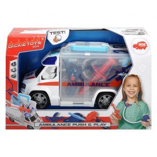 Игровой набор Dickie Toys Скорая помощь с набором доктора