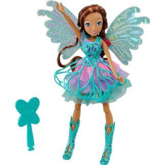 Кукла Winx Butterflix Fairy Баттерфликс Лейла 27 см (Винкс)